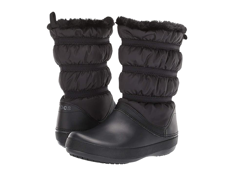 863a1cb57 Crocs Crocband Winter Boot (Black Black) Women