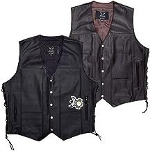 Best 5xl leather vest Reviews