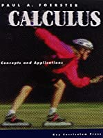 Calculus Concepts and Applications 1559531177 Book Cover