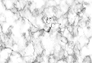 LFEEY 10x7ft White Marble Photography Backdrops Wedding Birthday Party Events Photoshoot Background Cloth Photo Studio Props Video Drapes Wallpaper