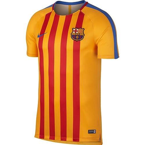 d590c4514 Nike 2017-2018 Barcelona Pre-Match Dry Training Football Soccer T-Shirt  Jersey