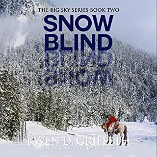 Snow Blind audiobook cover art