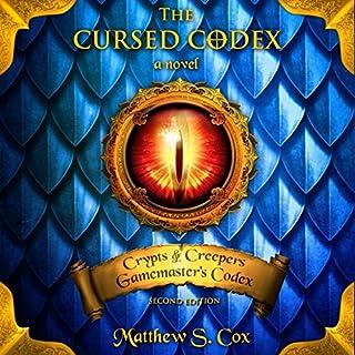 The Cursed Codex audiobook cover art