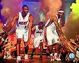 Dwyane Wade, LeBron James, Chris Bosh 2010 Welcome...