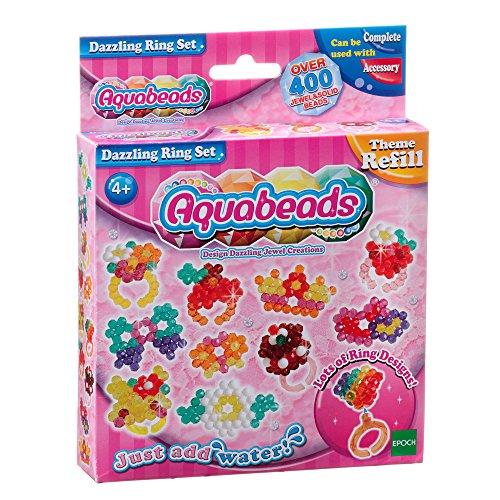 Aquabeads - La Recharge Bagues Étincelantes - 79278 - Recharge Thématique - Loisirs Créatifs