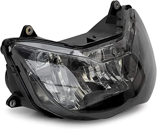 discount Mallofusa online sale Motorcycle Front Headlight Headlamp Assembly Compatible for Honda CBR929RR online 2000 2001 Smoke Lens online