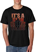 Allntrends Men's T Shirt It's A Sign Of The Times Styles Shirt Popular Top