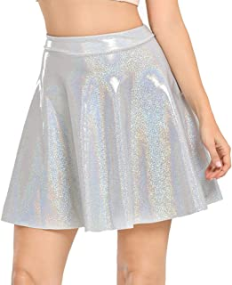Women's Casual Fashion Flared Pleated A-Line Circle Skater Skirts