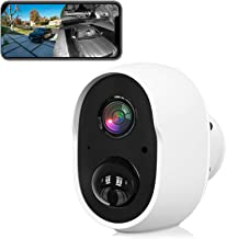 Outdoor Security Camera, Wireless WiFi Cameras for Home Security, Rechargeable Indoor Surveillance Camera System 1080P Nig...