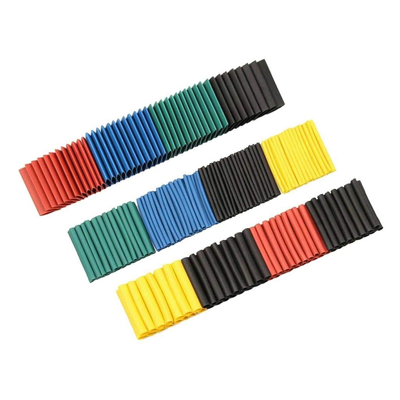オリエンテーション翻訳するスケッチF Fityle 熱収縮1.5mm-10mm 8サイズ2:1さまざまな色のチューブチューブスリーブ