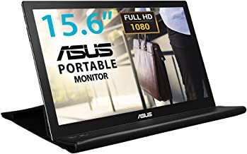 "ASUS 15.6"" 1080P Portable Monitor (MB169B+) - Full HD, IPS, Auto-rotatable, Smart Case, Ultra-slim, Lightweight, Sleek, US..."