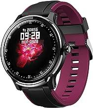 Smart Horloge Heren IP68 Waterdicht 1,3 Inch Full Touchscreen Outdoor Sport Horloge-Paars
