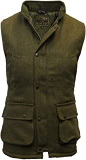 Walker and Hawkes Men's Derby Tweed Shooting Waistcoat Country Gilet