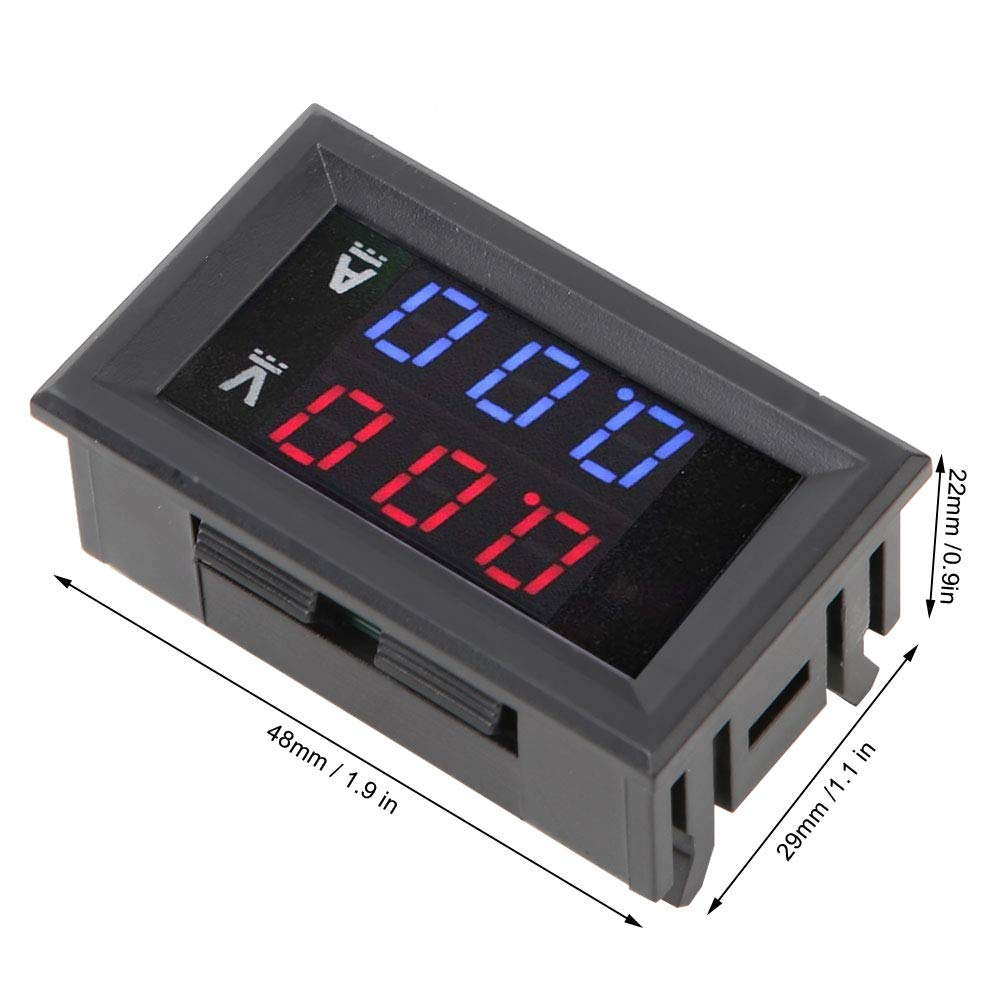 Current High Precision Max 63% OFF Voltage for OFFer Meter Car Dis