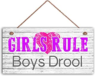 Best girls rule sign Reviews
