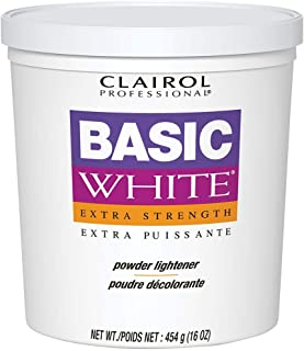 CLAIROL Professional Basic White Extra Strength Powder Lightener 1lb/454g