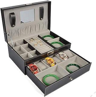 ebe506a0c DoubleBlack Caja Joyero Organizador Bandeja para Joyas Bisuteria Relojes  Armario