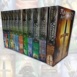 John Flanagan Rangers Apprentice 12 Books Collection Set (The Emperor of Nihon-Ja, The Lost Stories, Erak's Ransom, Halt's...
