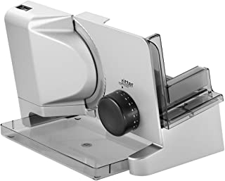 Ritter Food Slicer E 16 Duo Plus, Electric Food Slicer with eco Motor, Made in Germany