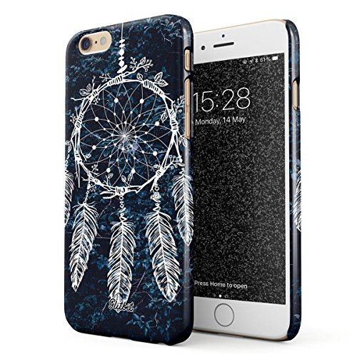 Glitbit Compatible with iPhone 6 / 6s Case Dreamcatcher Native Nature Dream Catcher Tumblr Boho Indie Bohemian Boheme Thin Design Durable Hard Shell Plastic Protective Case Cover