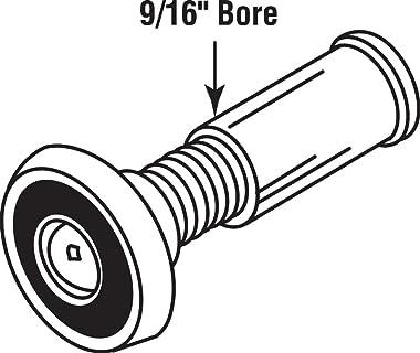 Defender Security U 9891 Door Viewer, 200-Degree, 9/16-Inch Bore, Brass