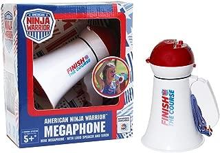 American Ninja Warrior Megaphone- with Siren and Announcing Function