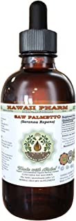 Saw Palmetto Alcohol-FREE Liquid Extract, Organic Saw Palmetto (Serenoa Repens) Dried Berry Glycerite Natural Herbal Supplement, Hawaii Pharm, USA 2 fl.oz