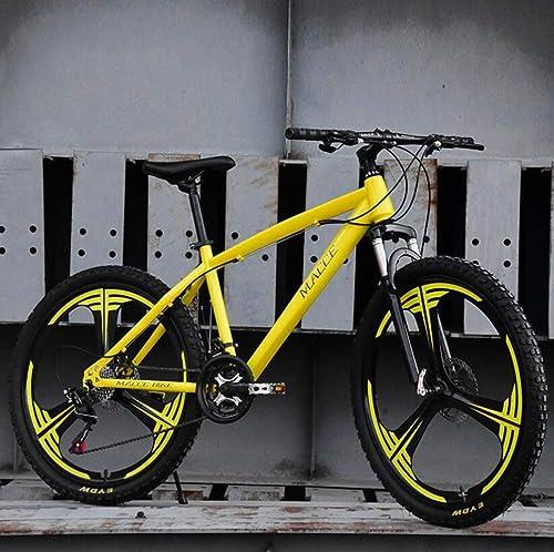 YAMEIJIA Vélo de Montagne équitation 26 Pouces à Vitesse Variable Amortisseur à Disque de frein 21-24-27 Vitesse