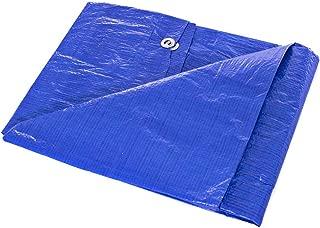 Waterproof Lightweight Blue Multipurpose Poly Tarp (5 Feet x 7 Feet) - Woven Polyethylene