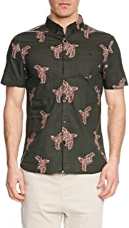 Mossimo Men's Haven Short Sleeve Shirt