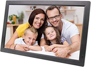 Digital Photo Frame, 21-inch 1920 * 1080 HD LED MP3 / MP4 Player Multi-Function Advertising Machine Support HDMI USB Multi...