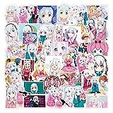 Hot Kawaii Anime Stickers Kakegurui Among Us Decal For Car Laptop Bike Truck Motorcycle Luggage Sticker Pack Vinyl