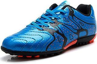 Niño Difícil Suelo Artificial Velocidad PU Cuero Fútbol Zapatos