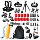 Underwater Action Camera Accessories Kit Bundle...