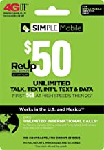 cell phone refill cards