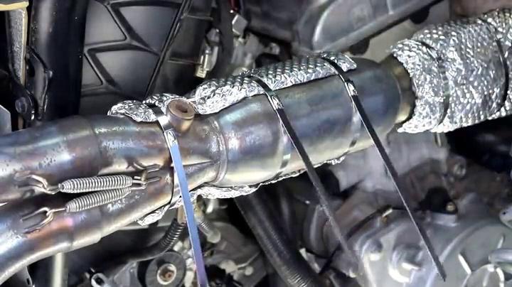 Heatshield Products 170202 Heatshield Armor 1//4 Thick x 2 Wide x 2 Long Exhaust Pipe Heat Shield