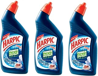 Harpic Bathroom Cleaner Lemon Set -750 Ml, 3 Pieces