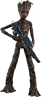 Hot Toys Avengers Infinity War Movie Masterpiece Groot 11.5 inch Figure