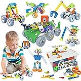 Gxi Konstruktionsspielzeug für Kinder, Bausteine Spielzeug Lernspielzeug...*