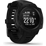 Garmin Instinct Tactical, Rugged GPS Watch, Tactical Specific Features, Constructed to U.S....