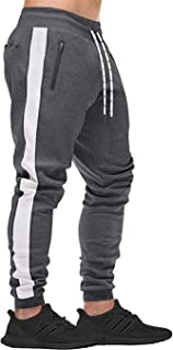 Men's Joggers Sweatpants Casual Jogger Pants Mens Workout Pants Running Pants with Pockets for Men