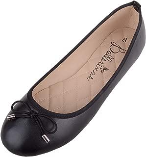 Absolute Footwear Womens Casual Smart Slip On School/Work/Ballerina Shoes/Pumps
