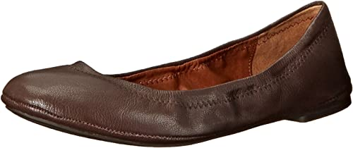 Lucky Brand Wohommes Lucky Emmie Ballet Flat, Tobacco Fabric, 7.5 M US