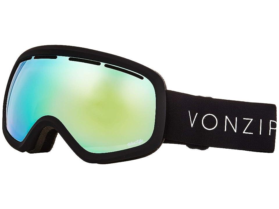VonZipper Skylab Goggle (Black Satin/Wild Stellar Chrome) Snow Goggles