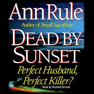 Dead by Sunset audiobook cover art