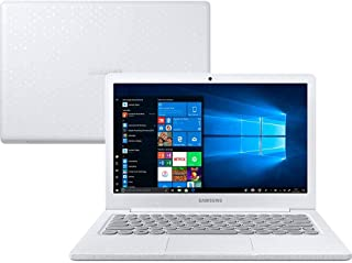 "Notebook, Samsung, Flash F30 Intel Celeron, 4GB RAM, 128GB SSD, Full HD LED 13.3"" , Windows 10,  Branco Giz"