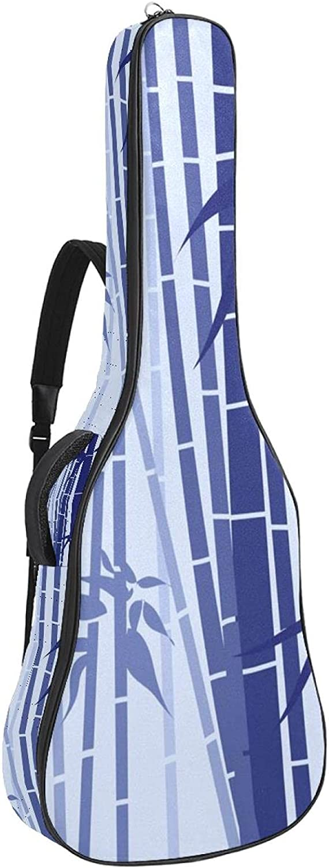 Acoustic Guitar Bag Japanese Bamboo Omaha Mall Adjustable Strap San Antonio Mall Shoulder Gu