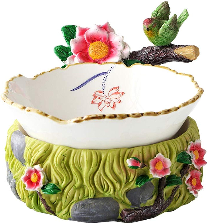 Céramique Bol Famille Restaurant Fruits Et Légumes Plateau De Salade De Bureau Décoration Décoration Vaisselle 26x13.5x20.5x6.5cm