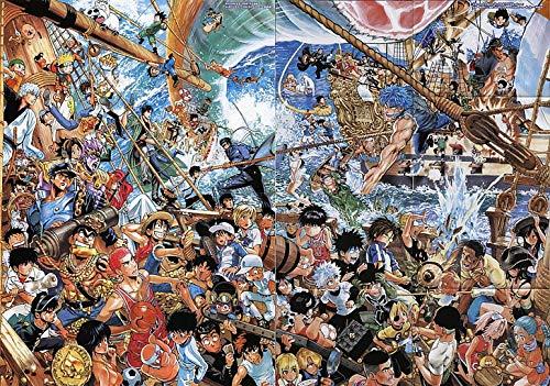 Poster World Manga Jojo S Bizarre Adventure Stardust Crusaders Naruto Shippuuden Poster imprimé Multicolore 30,5 x 45,7 cm