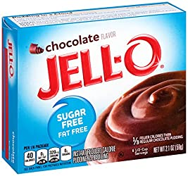 Jell-O Instant Pudding & Pie Filling, Chocolate Sugar Free, 2.1 oz
